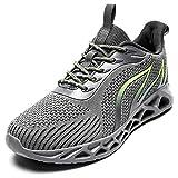 OBYMEUS Mens Running Walking Athletic Gym Workout Tennis Non Slip Work Sport Wide Cross Training...