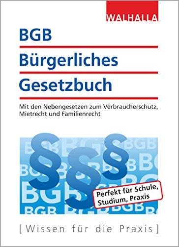 BGB - Bürgerliches Gesetzbuch Ausgabe 2019/2020
