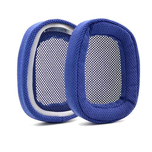 Defean Potein - Almohadillas de Repuesto para Auriculares Logitech G433 G233 G-Pro (Piel y Espuma y Tela)