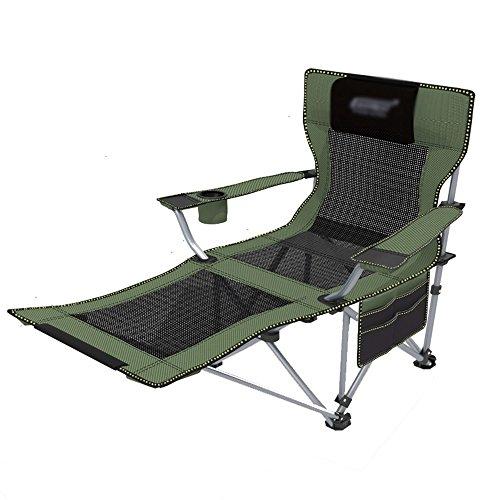ZPWSNH Outdoor Klappstuhl Liege Tragbare Rückenlehne Stuhl Strand Angeln Stuhl Nickerchen Mittagspause Stuhl Klappstuhl (Color : 2)