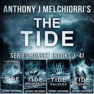The Tide Series Box Set (Books 1-4)     A Post-Apocalyptic Thriller              Written by:                                                                                                                                 Anthony J Melchiorri                               Narrated by:                                                                                                                                 Ryan Kennard Burke                      Length: 37 hrs and 18 mins     2 ratings     Overall 3.5