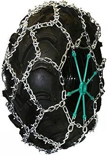 Quality Chain 5.5mm Link U-Grip Diamond Pattern ATV UTV Snow Traction Tire Chains (ATV-DBC)