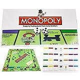 SVHK Juego de Monopoly Niños y Adultos Simulación económica - Juego de Tablero - Idioma Italiano