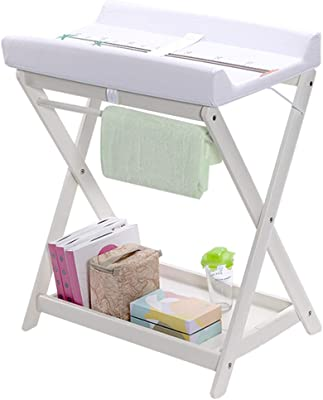 Changing Table Diaper Changing Tables Folding Diaper Toddler Infant Changing Station Dresser Max Load 25 Kg Ideal for Traveling Color : L-80/×75/×101cm