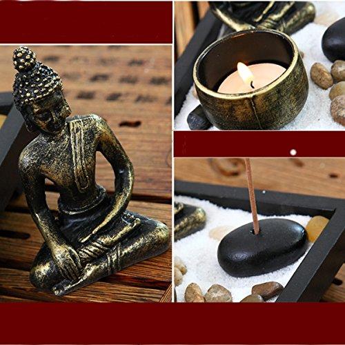 Buddha im Zen-Garten - 4