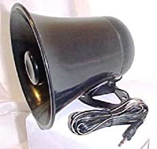 PA Horn Speaker w/Plug & Wire - 5 inch for CB/Ham Radio