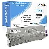 Cartucho de Tóner Compatible C532 C542 MC563 MC573 Negro Alta Capacidad 7000 páginas para Negro para impresoras láser Color Oki Okidata C532dn C542dn MC563dn MC573dn