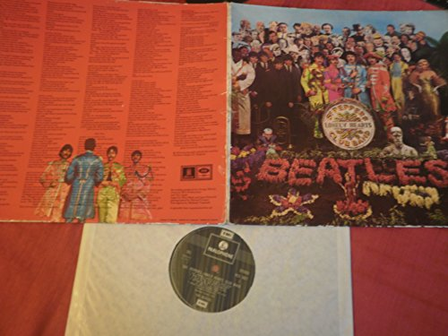 SGT PEPPERS LONELY HEARTS CLUB BAND[PCS7027] STEREO REPRESSING VINYL LP SILVER/BLACK LABEL