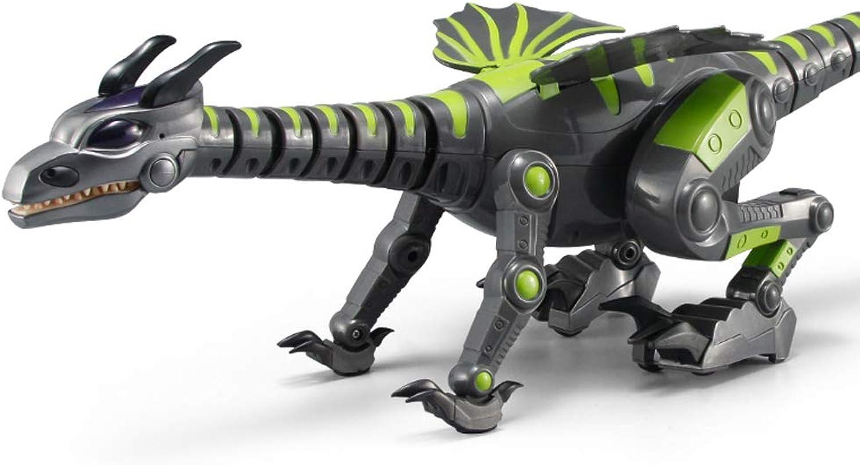 gran descuento FFLSDR Dinosaurio Tyrannosaurus Rex Robot eléctrico Juguetes Juguetes Juguetes Bailar y Caminar Simulación Animales Juguetes para Niños Inteligencia de Control Remoto  servicio honesto