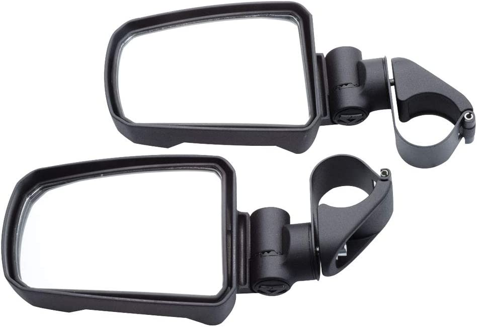 for Various Size UTVs 1.75 Round Tube Pair - Cast Aluminum Pursuit Night Vision Series Side View Mirror