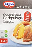 Dr. Oetker Professional Backpulver Original Backin, 1er Pack (1 x 1,5 kg)