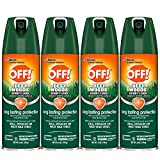 OFF! Sportsmen Deep Woods Insect and Mosquito Repellent II, Long Lasting Protection, Bug Spray 6 oz....