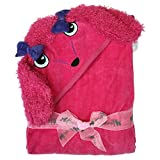 Toalla con capucha para bebé Poodle, cara, 76 x 101 cm, de Frenchie Mini...