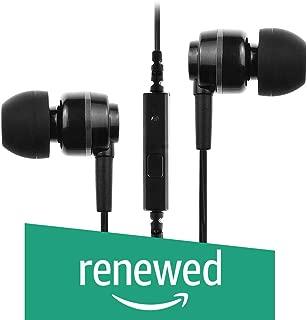 (Renewed) Soundmagic ES18S in-Ear Headphones with Mic (Black/Silver)