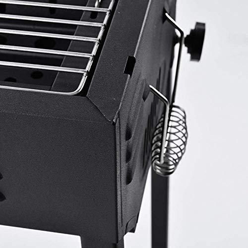 Estante Soporte ajustable Rocking Grill, parrilla de carbón, pre-calentar rápidamente Rack