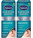Ear Drops for Swimmers Ear, Hyland's Earache Drops for clogged ears, fast, natural, (2 pack)