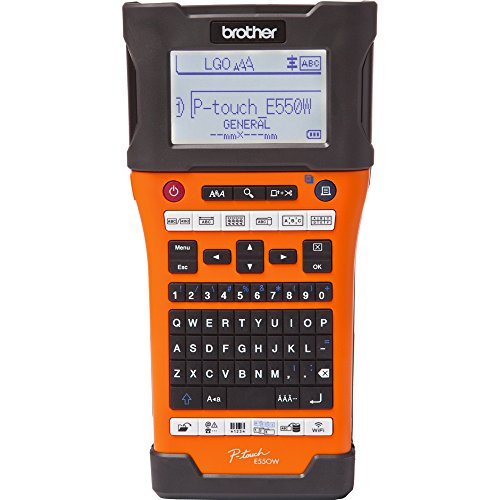 Mobile Solutions P Touch Handheld Labeler - Brother PT-E550W