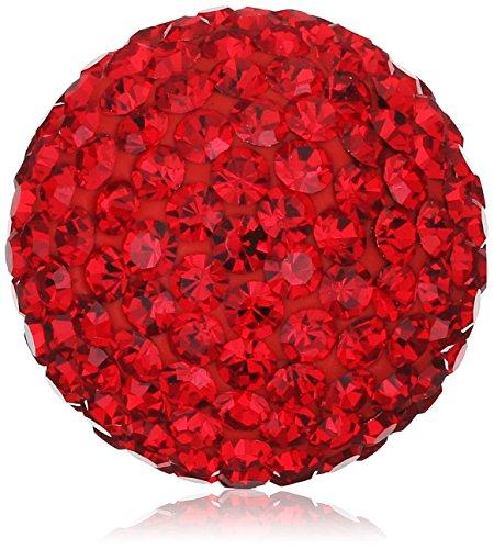 Engelsrufer Damen-Anhänger Klangkugel Kristall rot - ERS-55-ZI-M