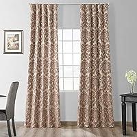 Half Price Drapes Designer Damask Curtain