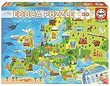 Educa - Mapa Europa Puzzle, 150 Piezas, Multicolor (18607)
