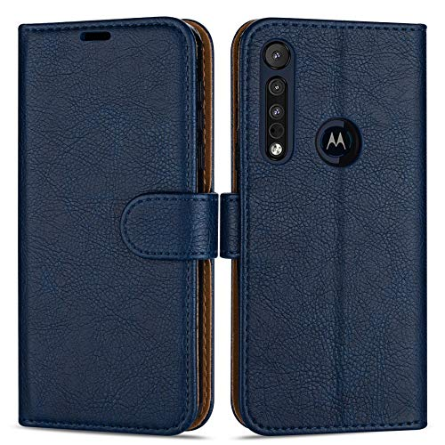 "Case Collection Custodia per Motorola Moto G8 Plus Cover (6,3"") a Libretto in Pelle di qualità Superiore con Slot per Carte di Credito per Motorola Moto G8 Plus Custodia"