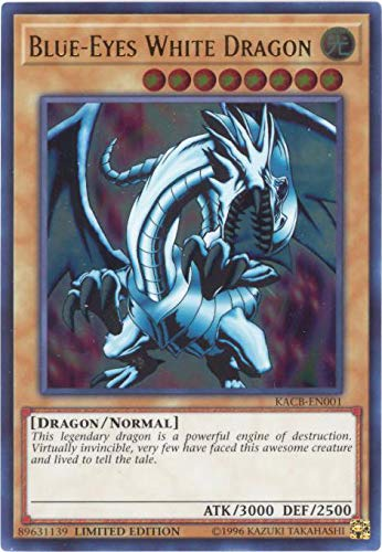 Yu-Gi-Oh! Singles - Blue-Eyes White Dragon - KACB-EN001 - Ultra Rare