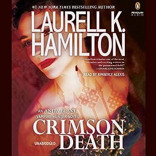 Crimson Death audiobook cover art