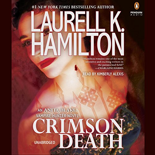 Crimson Death audiobook cover art