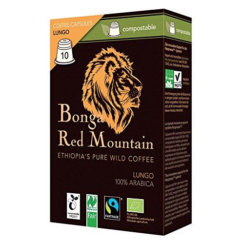 Bonga Red Mountain Lungo kompostierbare Kapseln 55 g