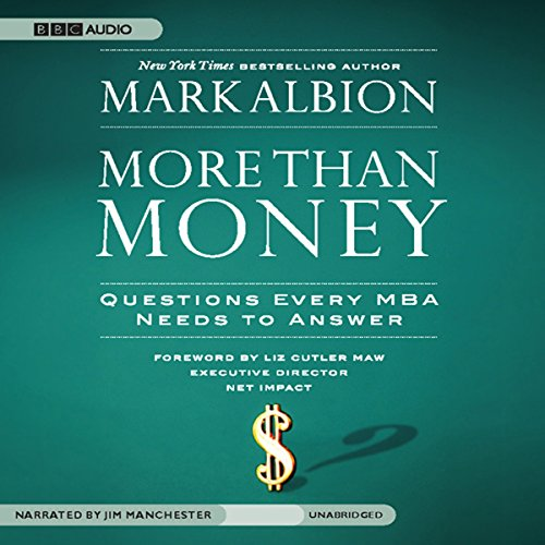 More than Money audiobook cover art