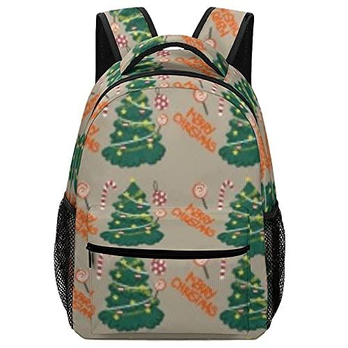 Árbol de Navidad lleno de regalos bolsa de viaje bolsas de negocios bolsas de ordenador portátil mochila multifunción al aire libre