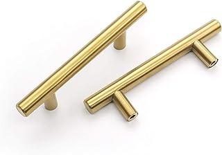Gold Knob Cabinet drawer knob Dresser Drawer Furniture pulls Round knob Round Handles Modern Pulls 339416 Gold pull