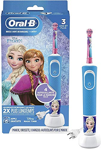 Product Image of the Oral-B Kids Electric Toothbrush Featuring Disney's Frozen, for Kids 3+...