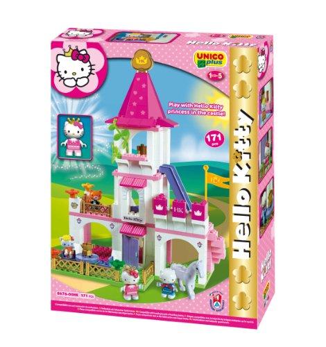 Unico ANDRONI Giocattoli Costruzioni Plus Hello Kitty, Multicolore, 8000796886767