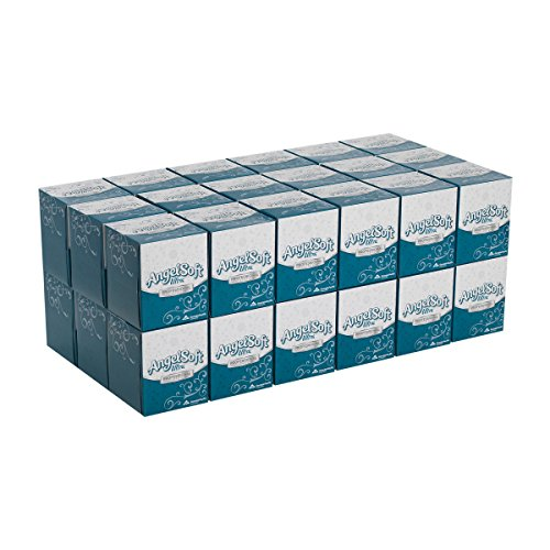 Angel Soft Ultra Professional Series Premium 2Ply Facial Tissue by GP PRO GeorgiaPacific Cube Box 46560 96 Sheets Per Box 36 Boxes Per Case