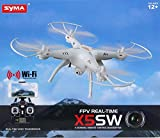 Jack Royal X5SW Explorers 4CH 2.4GHz 6-Axis Gyro Remote Control Quadcopter with Real TIme WiFi Camera (FPV) (Multi-Color)