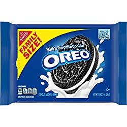 OREO Chocolate Sandwich Cookies, Original Flavor, 1 Resealable Family Size Pack, 19.1 Ounce