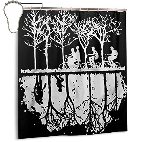Revel Shore Stranger Things The Upside Down 1983 Bathroom Shower Curtain Durable Polyester Home Decoration Waterproof 66x72 Inch