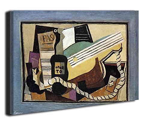 Partición de Pablo Picasso Cdormitorios Modernos Cuadros Decorativos Decoración Pared Cuadro Salon(55x66cm(22x26 pulgadas), enmarcado)