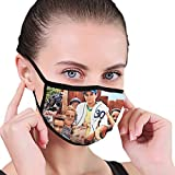 vipsung Danio The Sandlot (1993) Russian DVD Movie Cover Balaclava Face Mask with Filter Face Cover Unisex Black