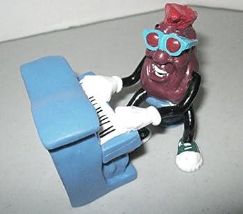 1989 California Raisins Red The Piano Player - Calrab