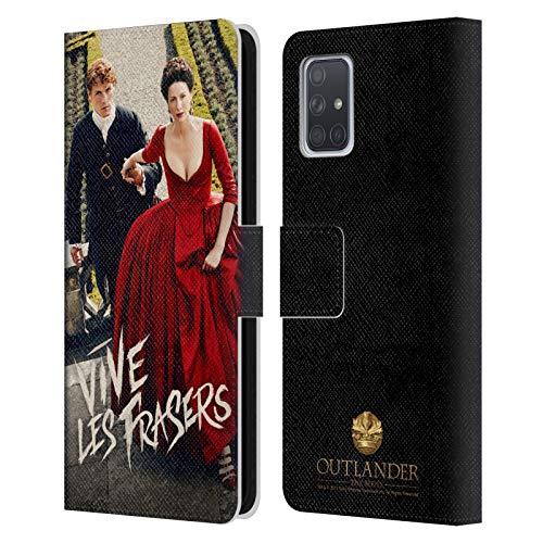 Head Case Designs Offizielle Outlander Staffel 2 Poster Schlüssel Kunst Leder Brieftaschen Huelle kompatibel mit Samsung Galaxy A71 (2019)