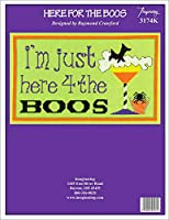 "Imaginating Counted Cross Stitch Kit 11""X17""-Here For The Boos (14 Count)"