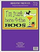 Imaginating カウントクロスステッチキット 11インチx17インチ - Here For The Boos (14枚)