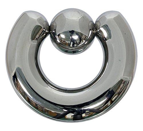Klemmkugelring 8,0 x 22 mm aus 316L Chirurgenstahl - Piercing BCR