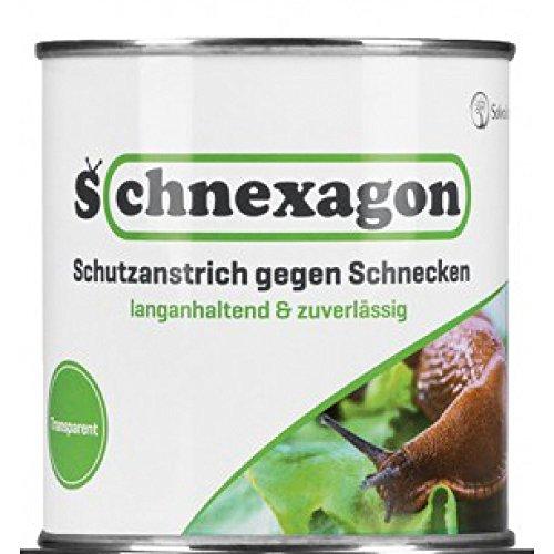 amara-global Schnexagon Schutzanstrich gegen Schnecken langanhaltend & zuverlässig 375 ml