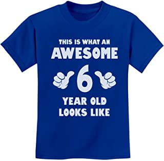 birthday shirts for 6 year olds