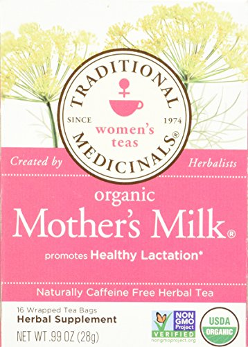 Traditional Medicinals Tea Mothers Milk Org3