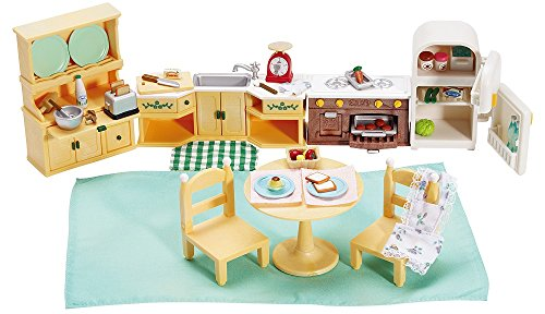 Calico Critters Deluxe Kozy Kitchen Set