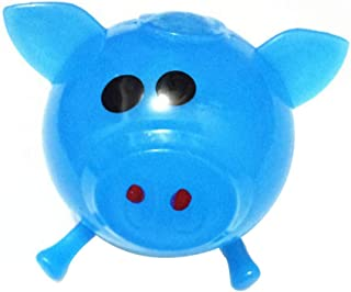 Naiflowers Mochi Squishy Toys Mini Squishies Pig Splat Ball Squishys Party Favors for Kids Miniature Novelty Toys Birthday Gifts Stress Relief Toy for Adults (Blue)